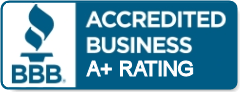 Accredited Better Business Bureau A+ Rating
